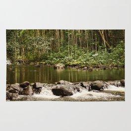 Waipio Valley River Rug