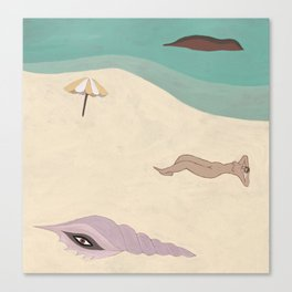 Creatures of the Beach Canvas Print