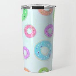 Colourful Donuts Travel Mug