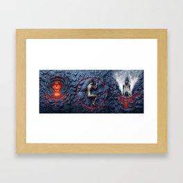 Stress Testing Framed Art Print