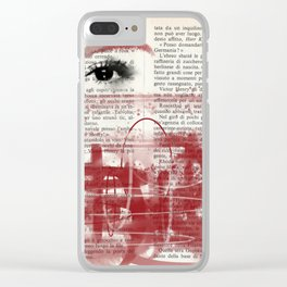 Eclipses Clear iPhone Case