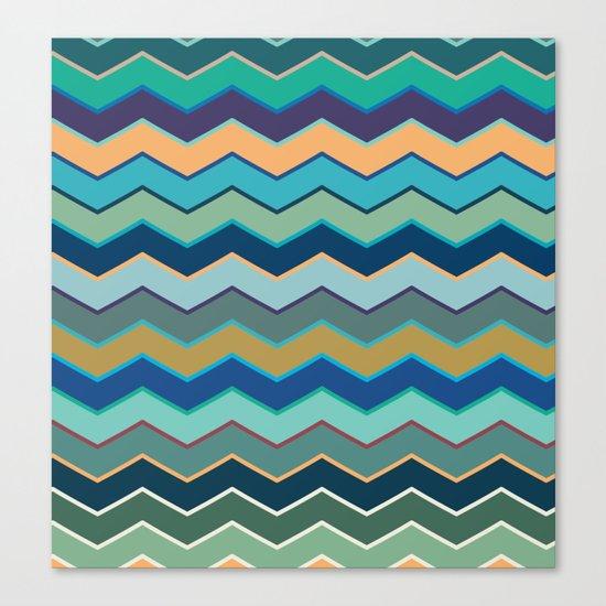 Colorful Wave II Canvas Print