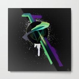 [MLX] Be Weird, It's Cool. Metal Print