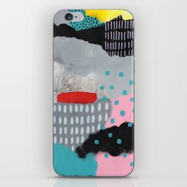 happiness flowing iPhone Skin