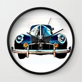 Vintage V8 Ford Wall Clock