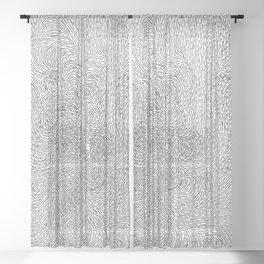 Turbulence 6 Sheer Curtain