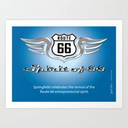 Tribute to the Spirit of 66 Art Print