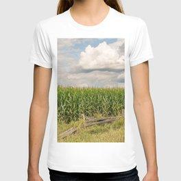 Landscape corn field T-shirt