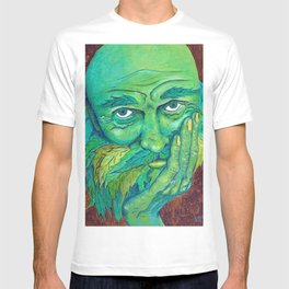 The Greenman by Mary Bottom T-shirt