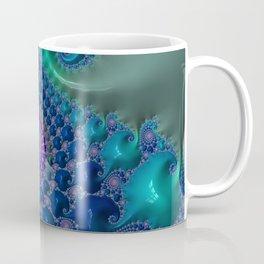 Emerald Isle - Fractal Art  Coffee Mug