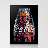 coca cola Stationery Cards featuring The Real.... by LesImagesdeJon