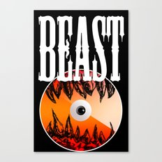 Beast front cover sketch Canvas Print