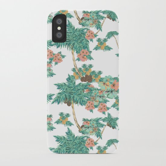 Tropical Kitch iPhone Case
