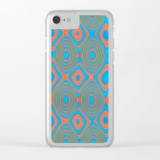 Color patches Clear iPhone Case