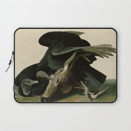 106 Black Vulture or Carrion Crow Laptop Sleeve