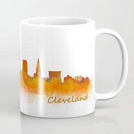 Cleveland City Skyline Hq V2 Coffee Mug