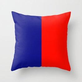 flag of Caligliari Throw Pillow