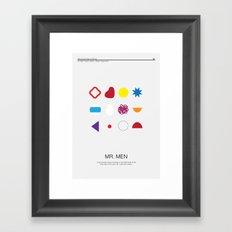 Mr. Men Framed Art Print