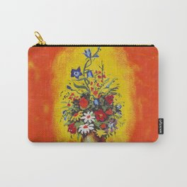 Flowers in the fire Carry-All Pouch