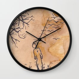 Fleeting Thoughts. Wall Clock