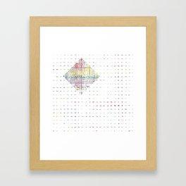 The System - diamond Framed Art Print