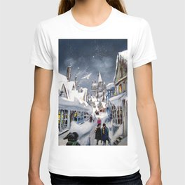 Snowy Hogsmeade T-shirt