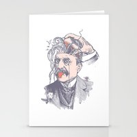 wild things Stationery Cards featuring Wild things by victor calahan