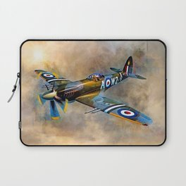 Spitfire Dawn Flight Laptop Sleeve