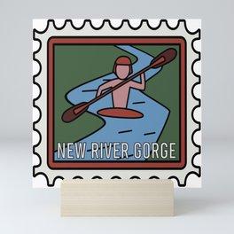 NEW RIVER GORGE  Mini Art Print