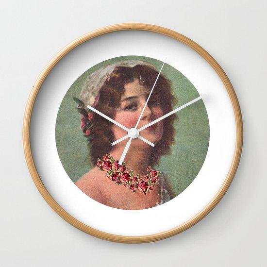 Josephine's Diamonds Wall Clock
