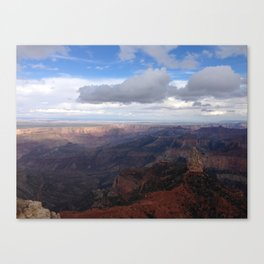 Imperial Point - Grand Canyon National Park North Rim Canvas Print