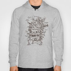 Howl's Moving Castle Plan Hoody
