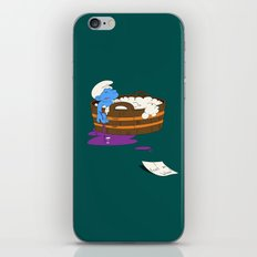 SUICIDAL SMURF  iPhone & iPod Skin