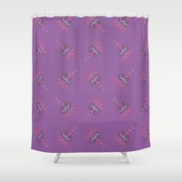 insect Shower Curtains featuring Insect by Boutique Boutilier