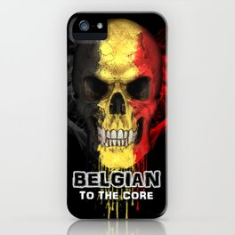 To The Core Collection: Belgium iPhone Case