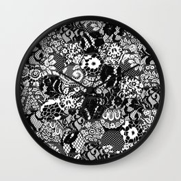 gothic lace Wall Clock