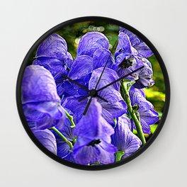 flower ( Samurai) Wall Clock