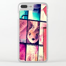 Sweet Doll Clear iPhone Case