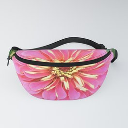 Light Pink Zinnia Fanny Pack