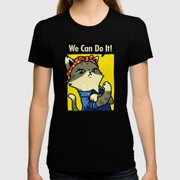 Purrsist! We Can Do It! T-shirt