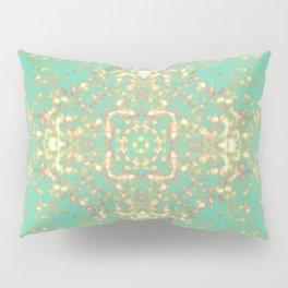 Golden Shield Pillow Sham