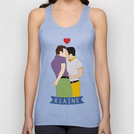 Klaine Kissing Unisex Tank Top