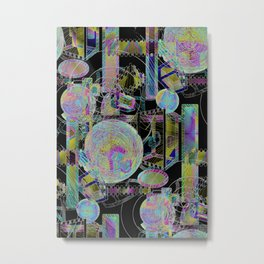 Oddmental Metal Print