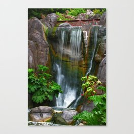Waterfall in Golden Gate Park Canvas Print