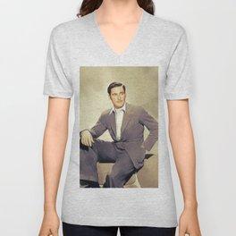 Errol Flynn, Hollywood Legend Unisex V-Neck