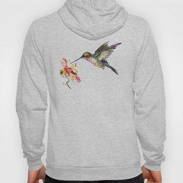Hummingbird and Flower Hoody
