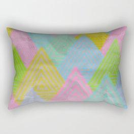 Acid Mountains Rectangular Pillow