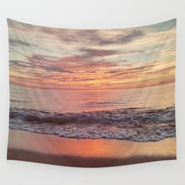 Race Point Sunset Wall Tapestry