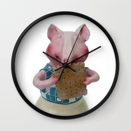 TEA TIME 2 Wall Clock