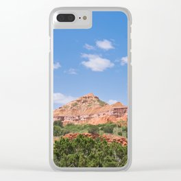 Texas Canyon 3 Clear iPhone Case
